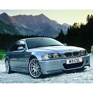 BMW 3 Series E46 M3 CSL Bodykit