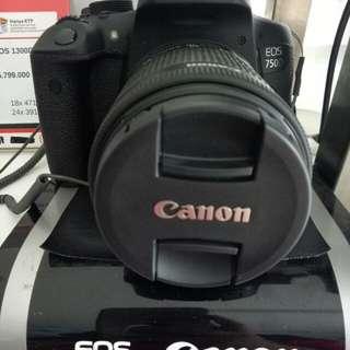 Cicilan Tanpa DP Camera Canon Eos 750D