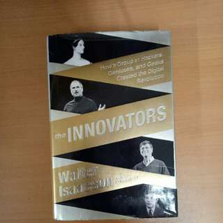 the INNOVATORS Walter Isaacson (Author of Steve Jobs)