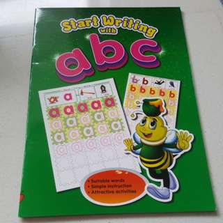 Start writing with abc