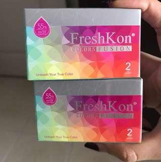Freshkon Colors Fushion Contact Lens (monthly)