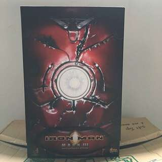 Hot Toys Iron Man 2 Mark 3 Battle Damaged Version MMS 110