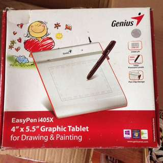 genius graphic tablet