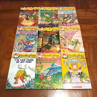 🔥Geronimo Stilton Books (Children's Books)