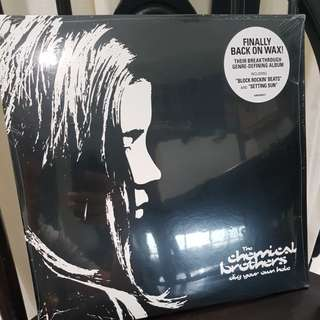Chemical brothers dig your own hole vinyl record 2 LP