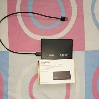 Orico 2.5 inch SATA USB 3.0 SSD/HDD Enclosurr