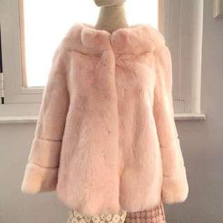 #welcomewinter Light Pink Copenhagen Fur Coat