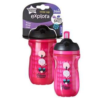 New Tommee Tippee Active Straw Cup