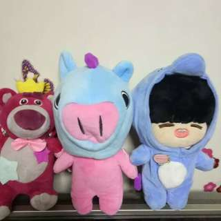 BT21 Mang doll outfit