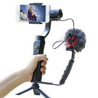 🛒Zhiyun Smooth Q Gimbal Stabilizer for Smartphone With Microphone Stand Kit for Vlogging