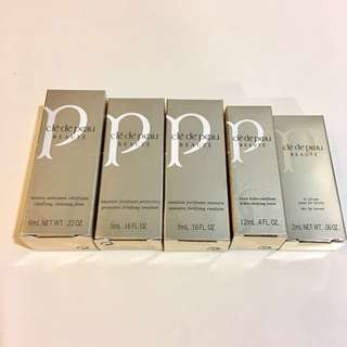 Cle de peau beaute sample set