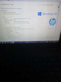 HP laptop for Sale Almost New