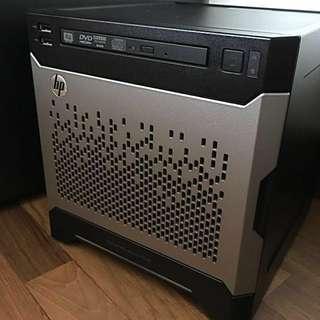 HP MicroSvr Gen8+Xeon E3-1265L V2 + 16G ECC Ram