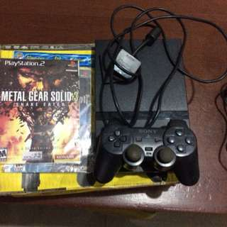 Ps2 Modified With 2games and 1 memory card