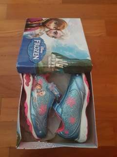 Frozen Elsa Anna LightUp Sneakers Shoes US10 (16.5cm)