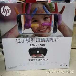 HP printer envy photo 7820