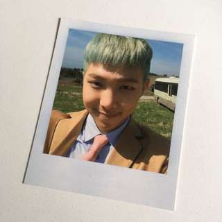 RM Signed Photocard (Young Forever album)