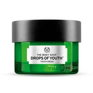 THE BODYSHOP - DROPS OF YOUTH, YOUTH CREAM
