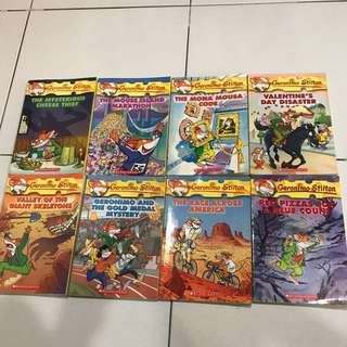 Antique Geronimo Stilton Books