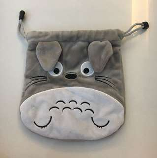 Totoro Drawstring Pouch