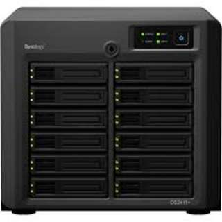 WTS - Synology 12 Bay NAS (DS2411+) with 8x 3TB HDD