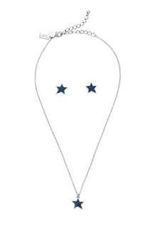 【Kate Spade】小星星项链/耳钉套装