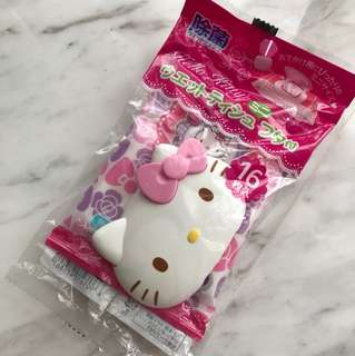 Hello Kitty Wet Tissue with Reusable cover
