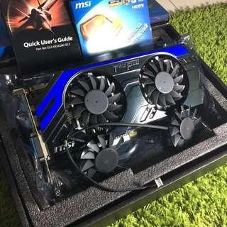 MSI GTX670 2GB Power Edition OC + Extra Fan