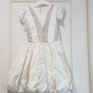 Holiday dress for baby fashionista