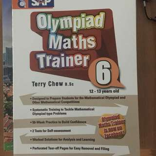 Math Olympiads Workbook