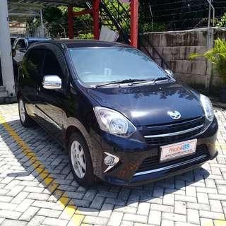 toyota agya g 1.0 bensin A/T 2014