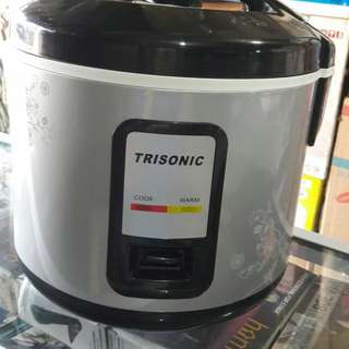 Rice Cooker Trisonic Magic Com 1.5 Liter Alat Penghangat Nasi Elektrik