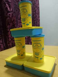 Lunch set tupperware for kids