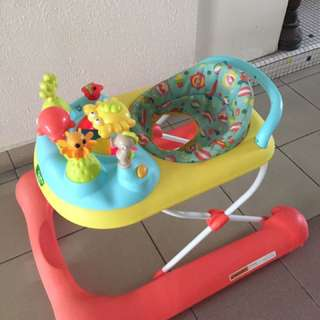 Sea themed baby walker