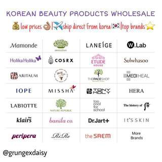🇰🇷KOREAN BEAUTY PRODUCTS WHOLESALE❤️