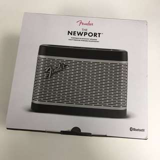 NEWPORT portable Bluetooth speaker