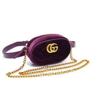 Gucci pouch + sling ladies