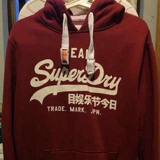 Superdry 有帽衛衣 hoodie