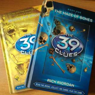 The 39 Clues book 1 & 4
