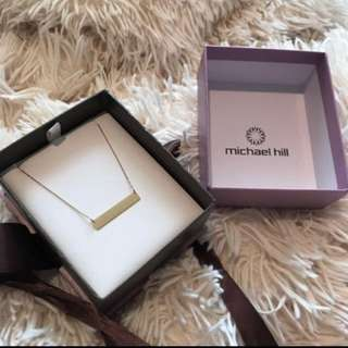 Genuine 10ct Gold Michael Hill Necklace