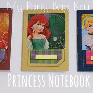Princess Notebook.