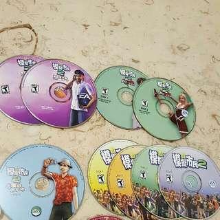 模擬市民 2 SIM 2, 主碟 4 隻 連 3 Sets 遊戲碟