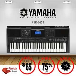 YAMAHA Portable Keyboard: PSR-E453