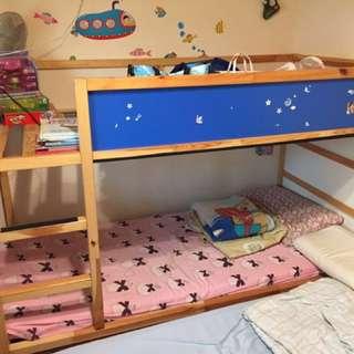 IKEA kura翻轉式兒童床架