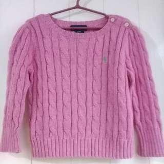 Authentic Ralph Lauren Pink Sweater