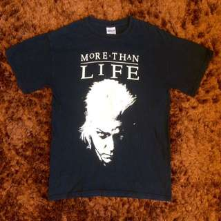 More Than Life band t-shirt