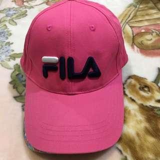 🚚 FILA 粉色帽