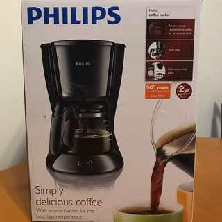 全新Philips咖啡機HD7431