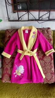 Preloved kid's bathrobe