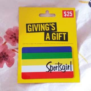 Sportsgirl Giftcard